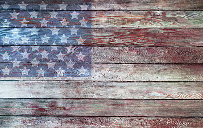 July 4 Photograph - American Patriotism by Carter Jones