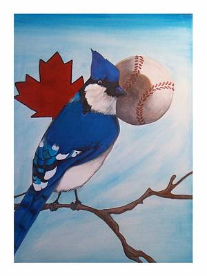 Bluejay Drawing - American Pride by Jacob Hostetler