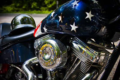 Bike Photograph - American Ride by Adam Romanowicz
