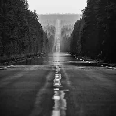 American Road Trip Print by Alexis Birkill