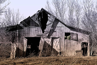 Shed Photograph - American Rural by Tom Mc Nemar