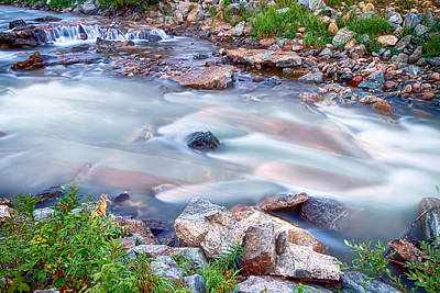 Patriotic Photograph - American Stream Reflections by James BO  Insogna