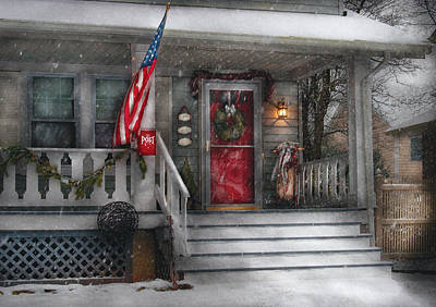 Realtor Photograph - Americana - A Tribute To Rockwell - Westfield Nj by Mike Savad