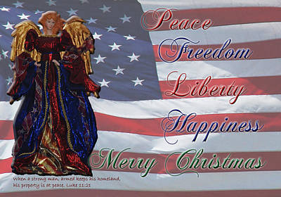 Americana Military Christmas 1 Print by Robyn Stacey