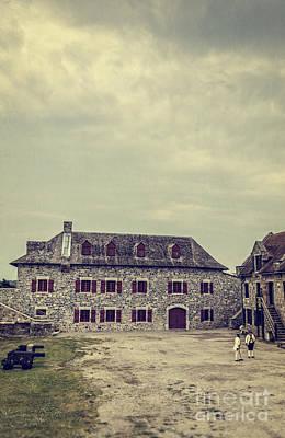 Barrack Photograph - Fort Ticonderoga by Edward Fielding