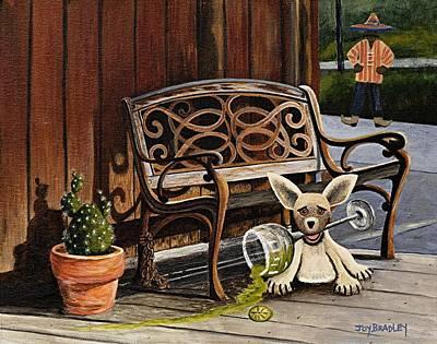 Joy Dinardo Bradley Dinardo Designs Painting - Amigo by Joy Bradley