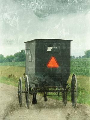Iowa Digital Art - Amish by Cassie Peters