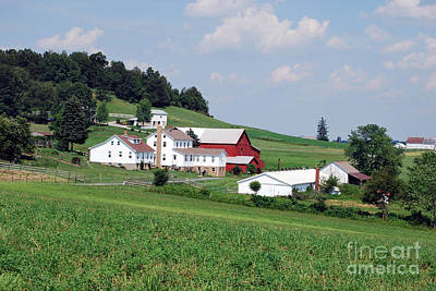 Landscape Photograph - Amish Country 10 by Pittsburgh Photo Company