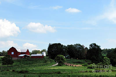 Barns Photograph - Amish Country 8 by Pittsburgh Photo Company