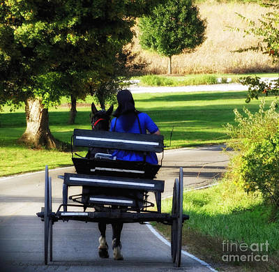 Amish Photograph - Amish Lady #2 by Gena Weiser