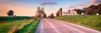 Pa State Parks Photograph - Amish Life by Emmanuel Panagiotakis