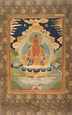 Amitayus - The Bodhisattva Of Limitless Life Print by Tilen Hrovatic