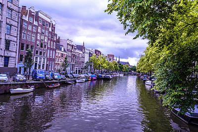 Amsterdam Is Beautiful Print by Xe Ale