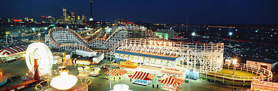Amusement Park Ontario Toronto Canada Print by Panoramic Images