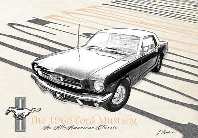 An All American Classic Print by Gary Bodnar