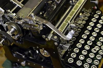 An Antique Typewriter Original by Elzbieta Fazel
