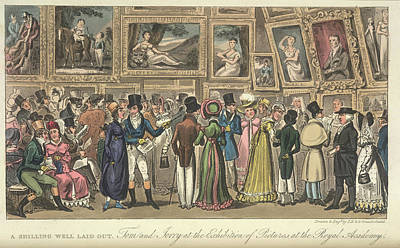An Art Exhibition Print by British Library