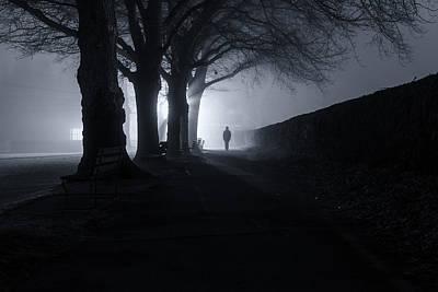 Doppelganger Photograph - An Encounter by Alex Land
