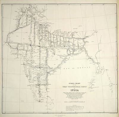 Chart Photograph - An Index Chart by British Library