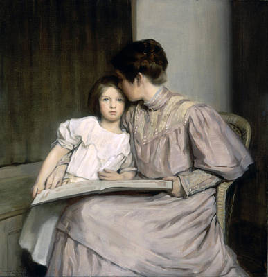 William Sergeant Kendall Painting - An Interlude by William Sergeant Kendall