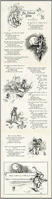 An Island Fable - The Mouse And Elephant - By Alvred Bayard 1898 Print by Daniel Hagerman