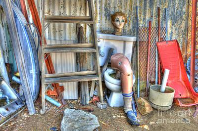 Mess Photograph - An Odd Assortment by Bob Christopher