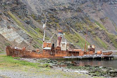 Artefact Photograph - An Old Whaling Ship by Ashley Cooper