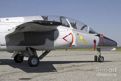 An S-211 Jet Trainer Aircraft Print by Luca Nicolotti