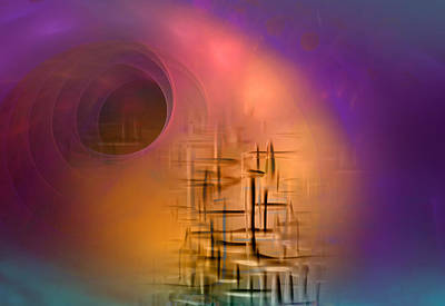 Magic Carpet Ride Digital Art - An Unexpected Result by Phil Sadler