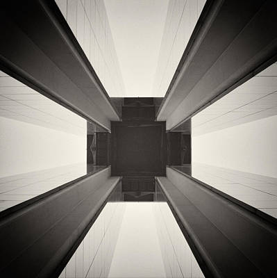 Berlin Photograph - Analog Photography - Berlin Abstract Architecture by Alexander Voss
