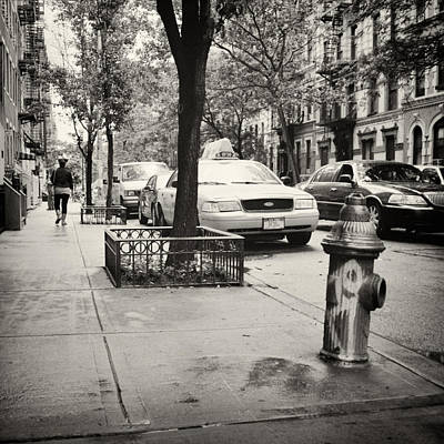 East Village Photograph - Analog Photography - New York East Village No.7 by Alexander Voss