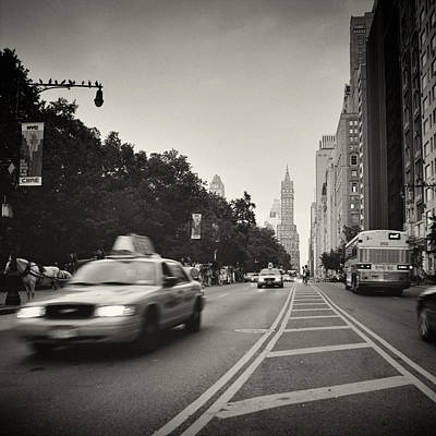 New York City Photograph - Analog Photography - New York 59th Street by Alexander Voss