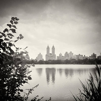 Black And White Photograph - Analog Photography - New York Central Park by Alexander Voss