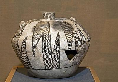 Anasazi Pottery Print by Buddy Mays