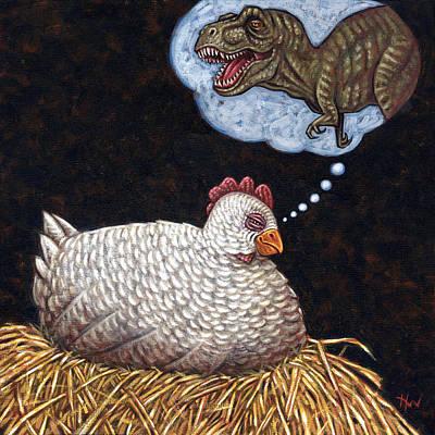 Ancestor Dreams Print by Holly Wood