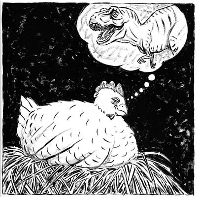 Ancestor Dreams Study Print by Holly Wood