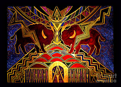 Ancestral Invocation Print by Susanne Still