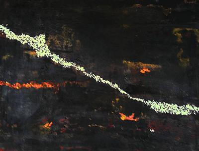 Dali Like Painting - Ancestral Lines by Elizabeth  Bogard