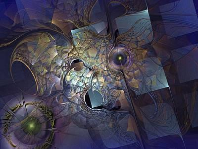 Monolith Digital Art - Ancestral Monolith by Casey Kotas