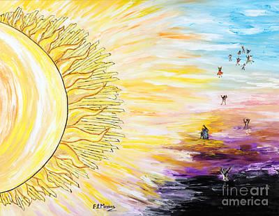 Anche Per Te Sorgera' Il Sole Print by Loredana Messina