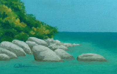 Painting - Anchorage 2 by Diane Cutter