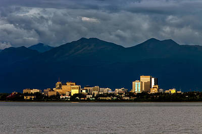 Downtown Area Photograph - Anchorage by Rick Berk