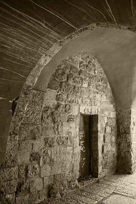 Ancient City Architecture No 3 Print by Ben and Raisa Gertsberg