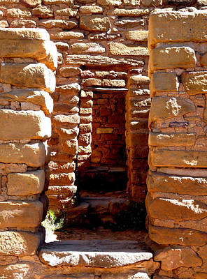 Ancient Doorways Print by Alan Socolik