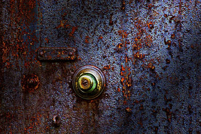 Lock Photograph - Ancient Entry by Tom Mc Nemar