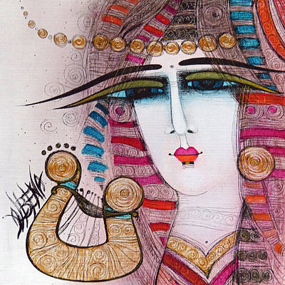 Painting - Ancient Melody by Albena Vatcheva