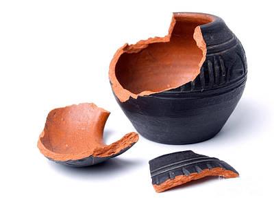 Ceramics Photograph - Ancient Pot by Sinisa Botas