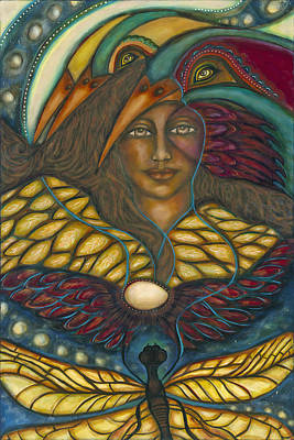 Ancient Wisdom Original by Marie Howell Gallery