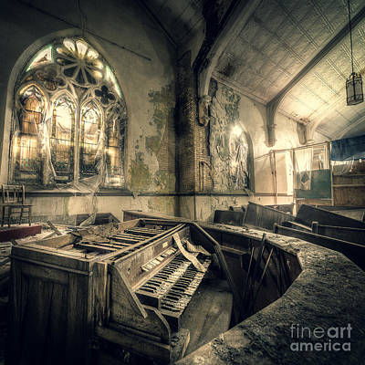 Apocalyptic Digital Art - And In Their Absence The Music Ceased by CM Goodenbury