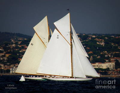 St.tropez Photograph - And The Race Begins by Lainie Wrightson